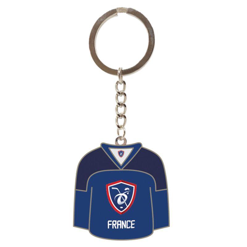 Porte Cle Metallique Maillot EDF FFHG