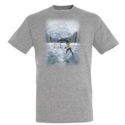 T shirt Nature GRIS