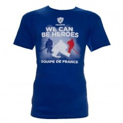 T-shirt supporter Hockey France
