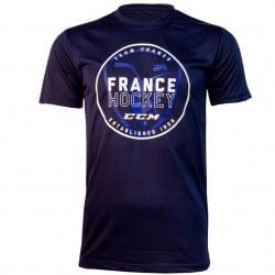 T-shirt logo Hockey France CCM