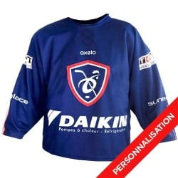 Personnalisation Maillot supporter domicile EDF de Hockey